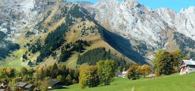 Une magnifique vue en Haute-Savoie