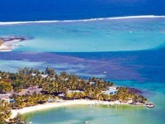 L'Ile Maurice vue de haut