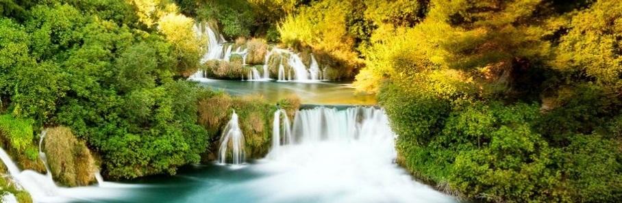 Un paysage magnifique en Croatie