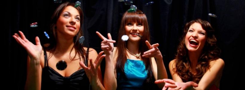 Trois femmes au casino