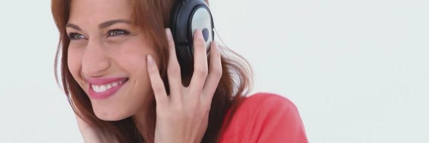 Ecoute de musique par casque