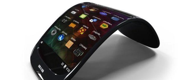 Smartphone pliable