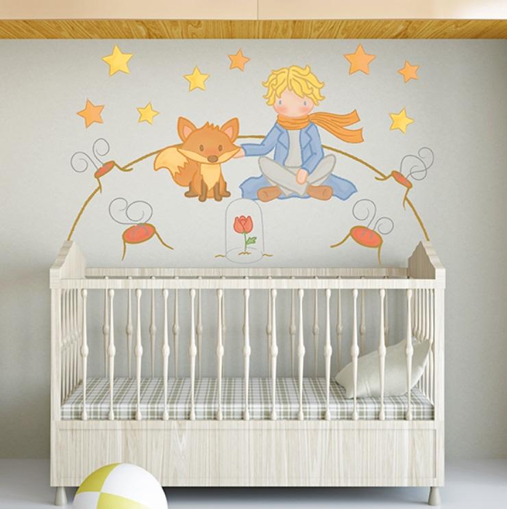 Sticker mural pour chambre de bébé