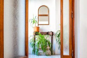 Décoration dans l'entrée de la maison