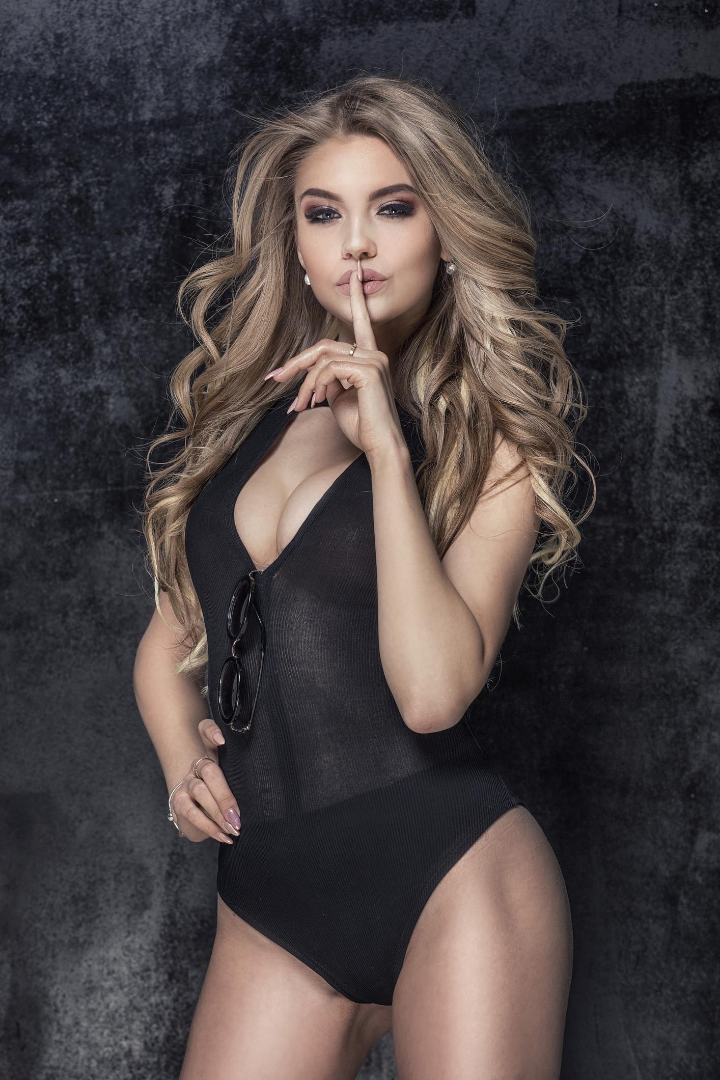 Femme en body