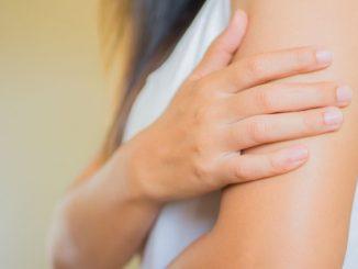 Le bras d'une femme