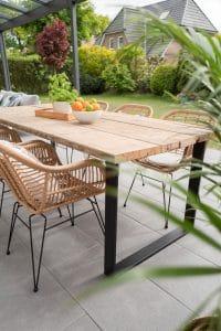 accorder mobilier jardin