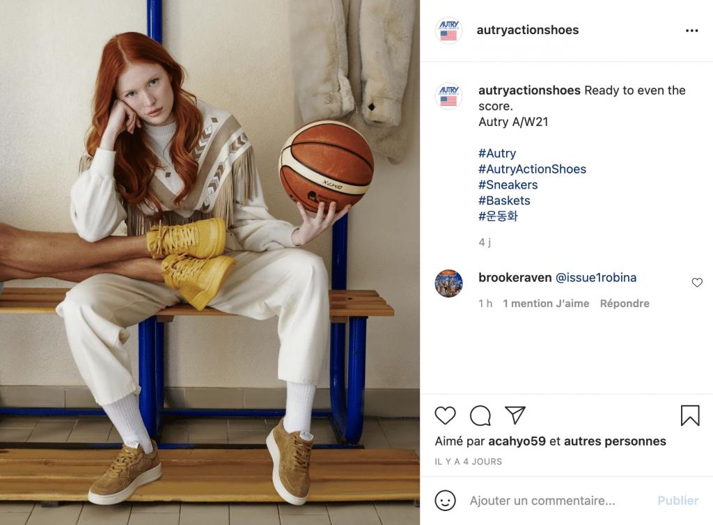 Quelles sont les baskets Autry femme disponible ?